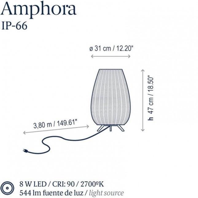 AMPHORA MINI DE BOVER