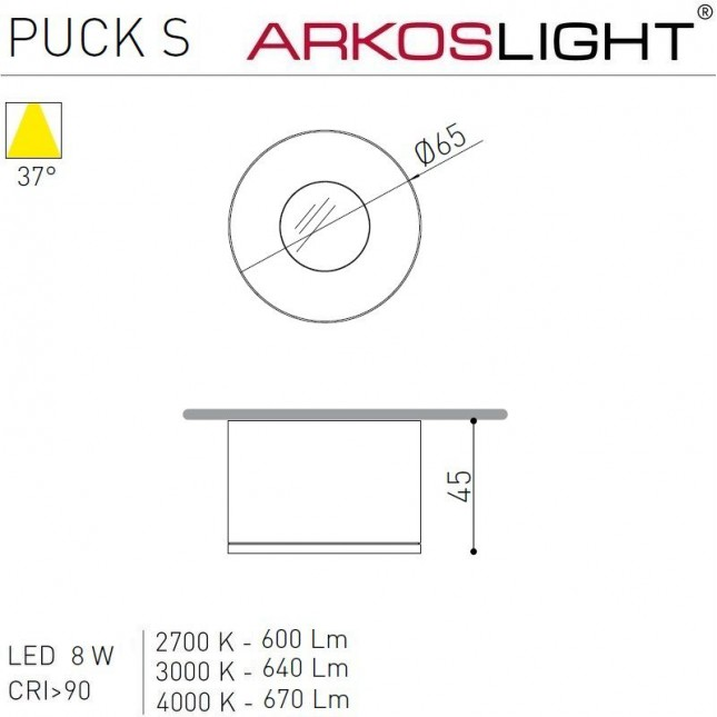 PUCK S BY ARKOS LIGHT