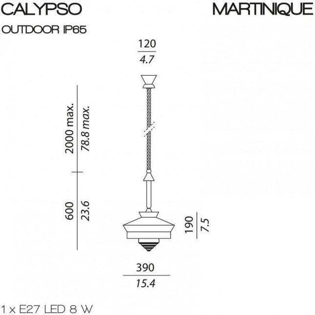 CALYPSO MARTINIQUE ÉXTERIEUR DE CONTARDI