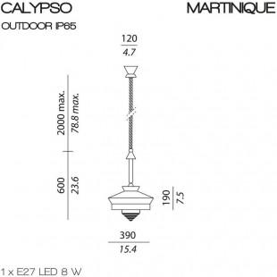 CALYPSO MARTINIQUE OUTDOOR DE CONTARDI