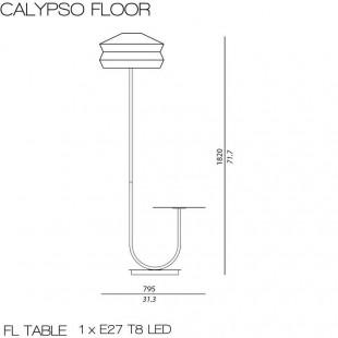 CALYPSO FLOOR ANTIGUA OUTDOOR BY CONTARDI
