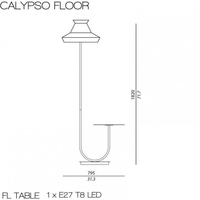 CALYPSO PIE GUADALOUPE OUTDOOR DE CONTARDI