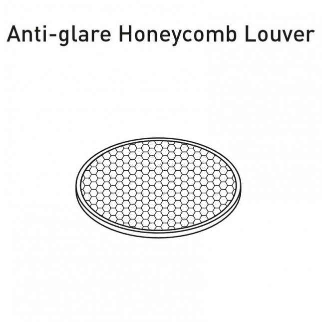 FIT ANTI-GLARE HONEYCOMB LOUVER BY ARKOS LIGHT