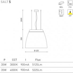SALT 5 - 35W DE ARKOS LIGHT