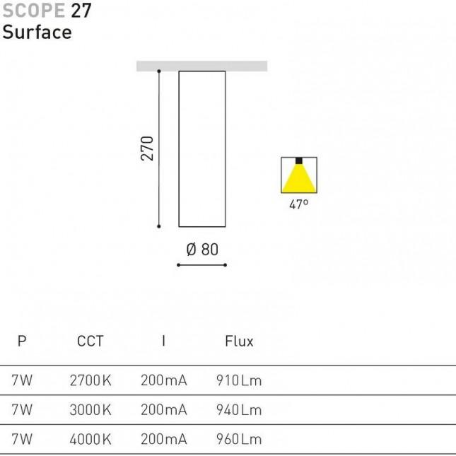 SCOPE 27 SURFACE DE ARKOS LIGHT