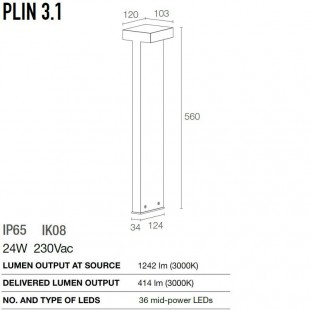 PLIN 3.1 DE LUCE & LIGHT