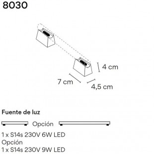 LINESTRA 8030 BY VIBIA