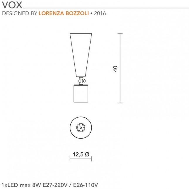 VOX H40 CM BY TATO