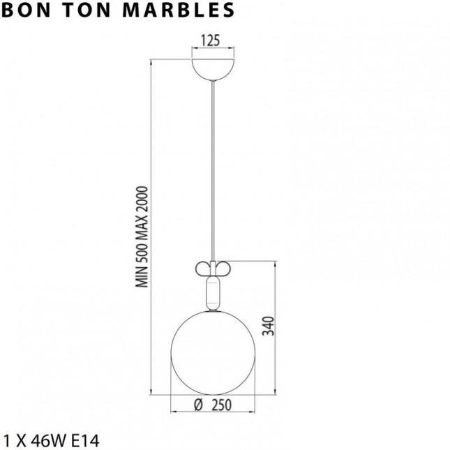 BON TON MARBLES BY IL FANALE - TORREMATO