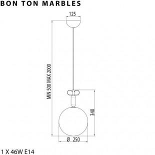 BON TON MARBLES DE IL FANALE - TORREMATO