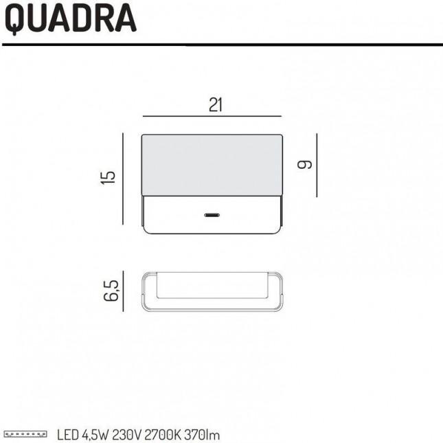 QUADRA WALL LAMP BY EL TORRENT