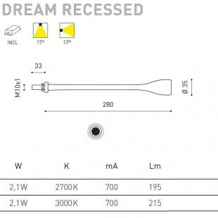 DREAM RECESSED DE ARKOS LIGHT