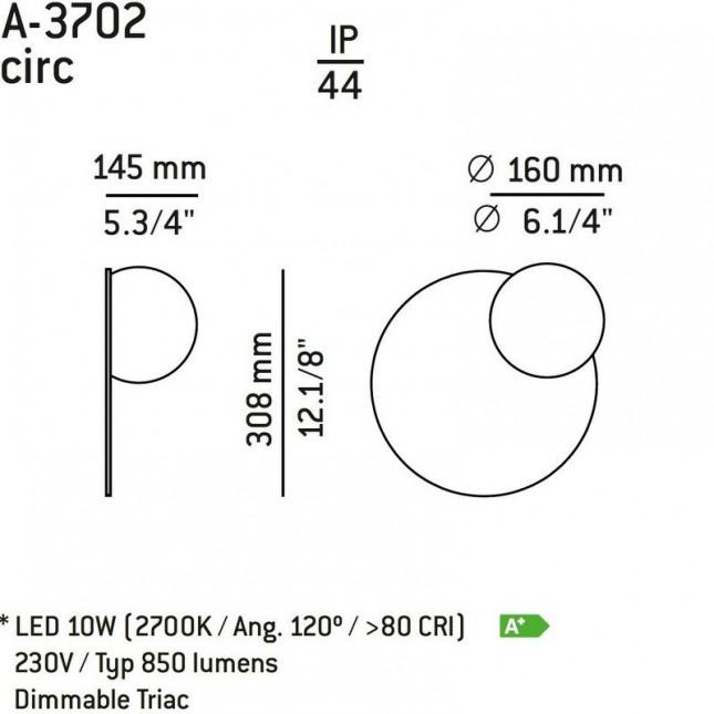 CIRC ESPEJO A-3702 DE ESTILUZ