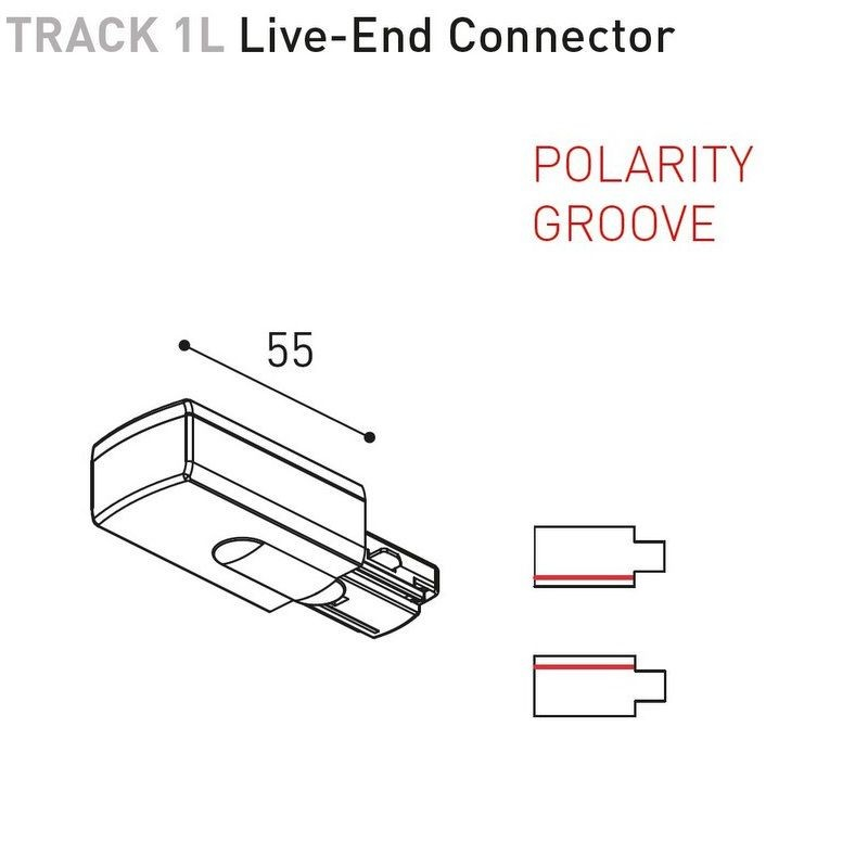 TRACK 1L SURFACE - ACCESSOIRES BY ARKOS LIGHT