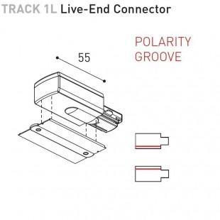 TRACK 1L ENCASTRÉ - ACCESSOIRES BY ARKOS LIGHT