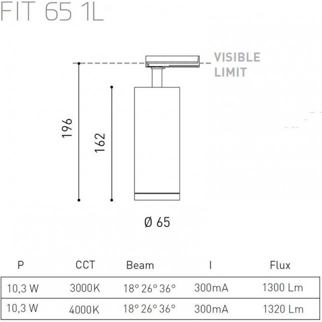 FIT 65 1L BY ARKOS LIGHT