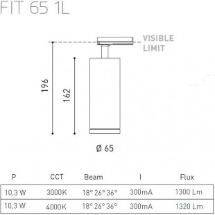 FIT 65 1L DE ARKOS LIGHT