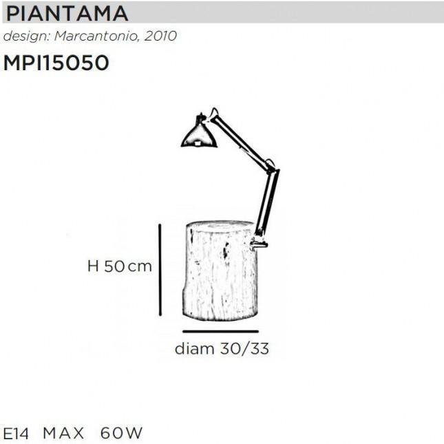 PIANTAMA H50 BY MOGG