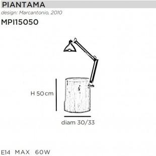 PIANTAMA H50 DE MOGG