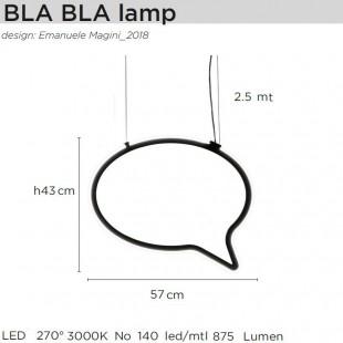BLA BLA LAMP BY MOGG
