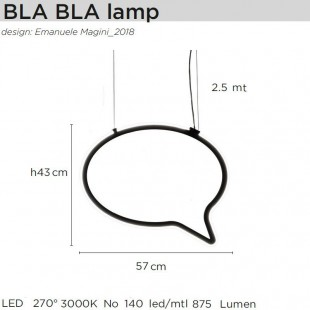 BLA BLA LAMP DE MOGG