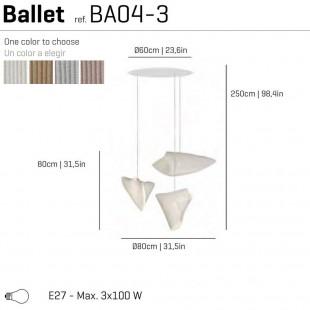 BALLET BA04-3 DE ARTURO ALVAREZ