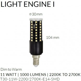 BOMBILLA LIGHT ENGINE I - E14 DE TALA