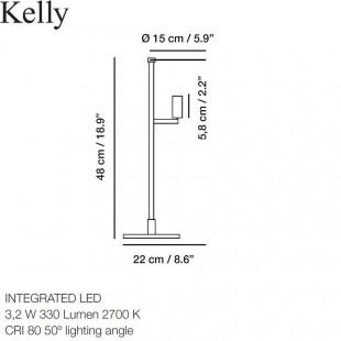 KELLY TABLE LAMP BY CARPYEN