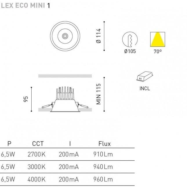 LEX ECO MINI 1 DE ARKOS LIGHT