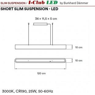 I-CLUB S SLIM LED DE LZF