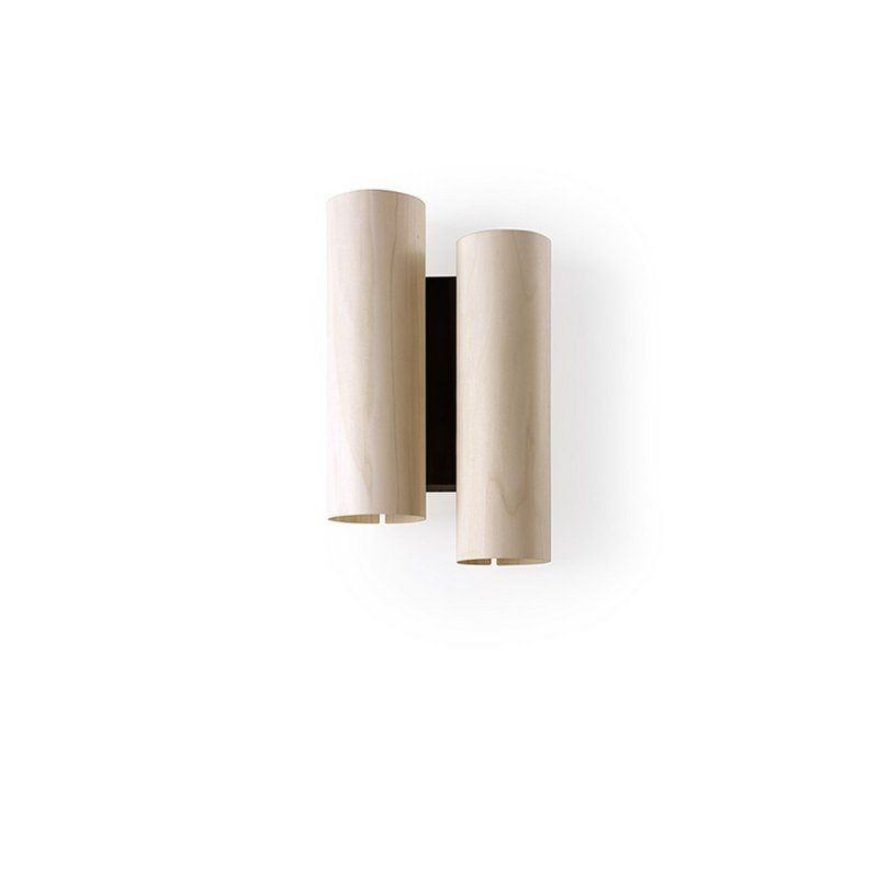 BLACK NOTE DUPLET WALL LAMP BY LZF