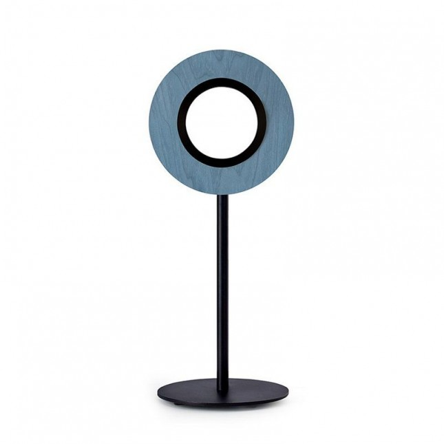 LENS CIRCULAR TABLE LAMP BY LZF
