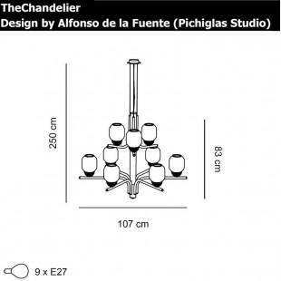 THECHANDELIER 9 DE ALMALIGHT