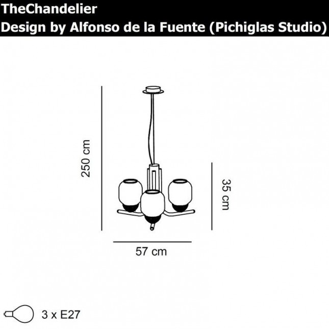 THECHANDELIER 3 DE ALMALIGHT