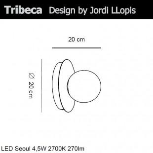 TRIBECA WALL LAMP BY ALMALIGHT