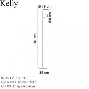 KELLY LAMPADAIRE DE CARPYEN