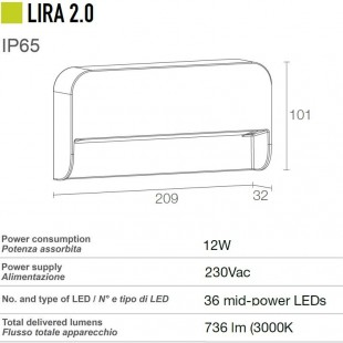 LIRA 2.0 DE LUCE & LIGHT