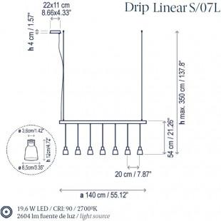 DRIP LINEAR S/07L DE BOVER