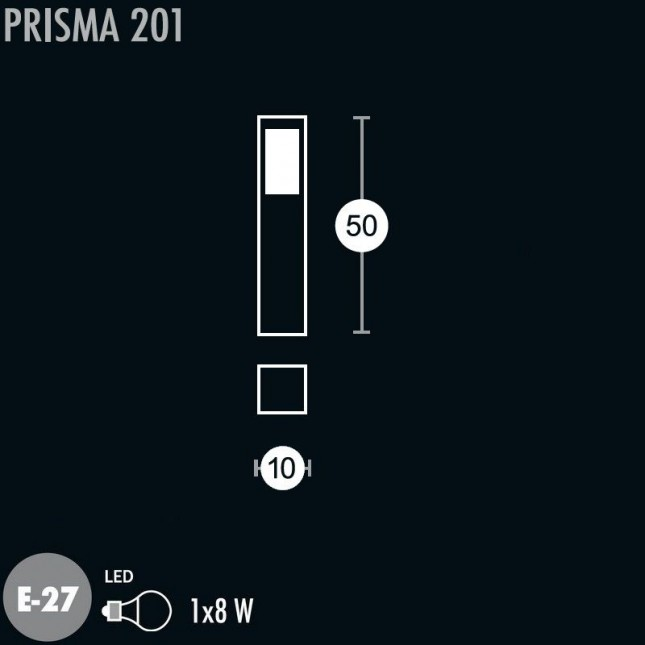 PRISMA BALIZA DE GREENART
