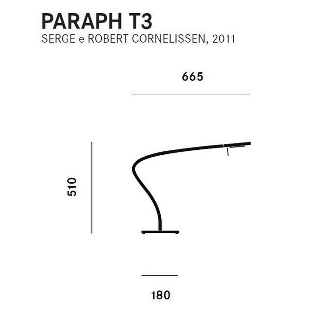 PARAPH T3 DE PRANDINA