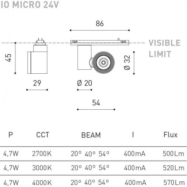 IO MICRO 24V DE ARKOS LIGHT