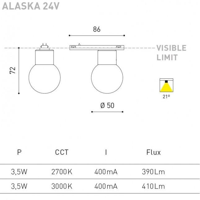 ALASKA 24V DE ARKOS LIGHT