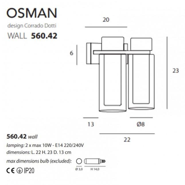 OSMAN 560.42 DE TOOY