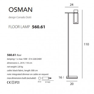 OSMAN 560.61 DE TOOY