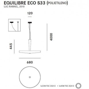 EQUILIBRE SUSPENSION S33 (POLIETILENO)