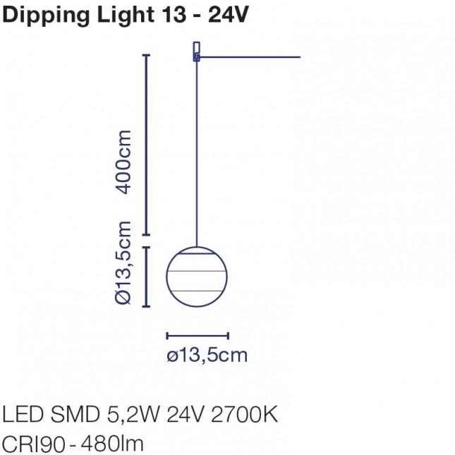 DIPPING LIGHT 24V DE MARSET