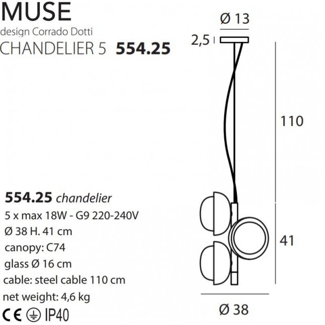 MUSE 554.25 BY TOOY