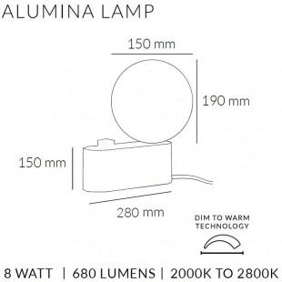 ALUMINA LAMP DE TALA