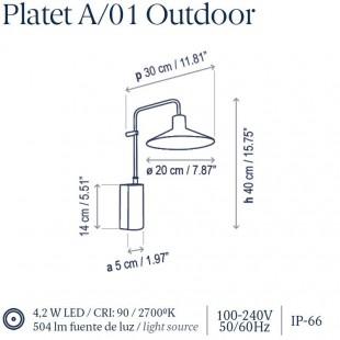 PLATET A/01 OUTDOOR DE BOVER