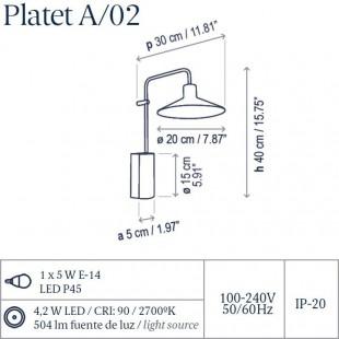 PLATET A/02 DE BOVER